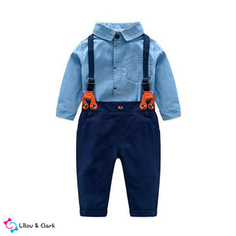George's Dungarees n Shirt
