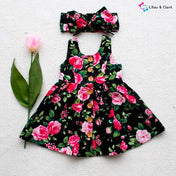Beautiful Floral Quincy Dress Set