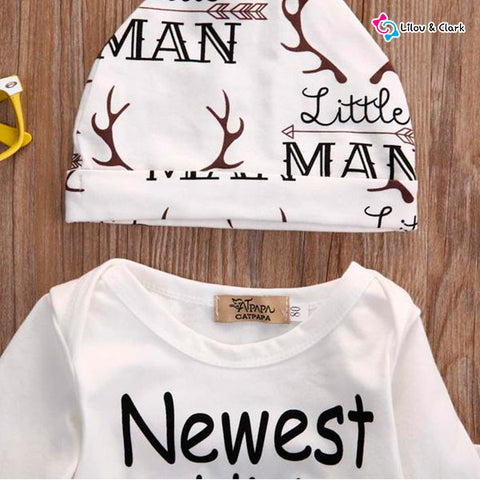 Image of New Addition Baby Boy's Set