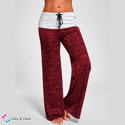 Drawstring Workout Pants