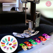 Wonder Clips - The Ultimate 50 Pcs Sewing Clip Set (9 Color mix)