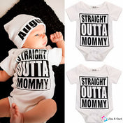 Straight Outta Mommy Jumpsuit