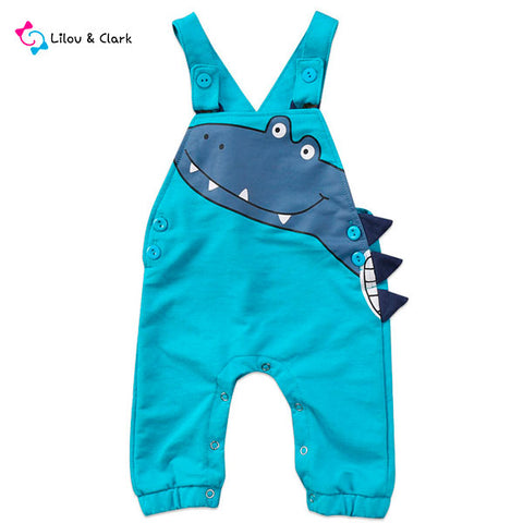 Jason's Dragon Dungarees
