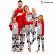 Family Bear Matching Christmas PJ's