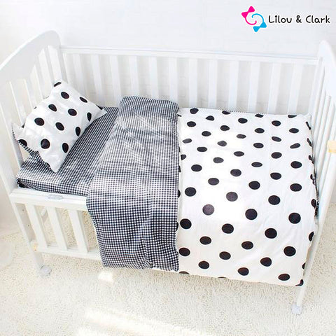 3Pcs Lovely Lilou Baby Bedding Set
