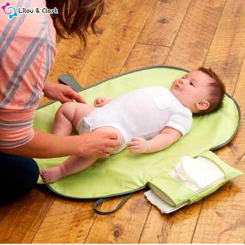 Image of Diaper-n-Go™ Clutch - The Portable Diaper Changing Pad