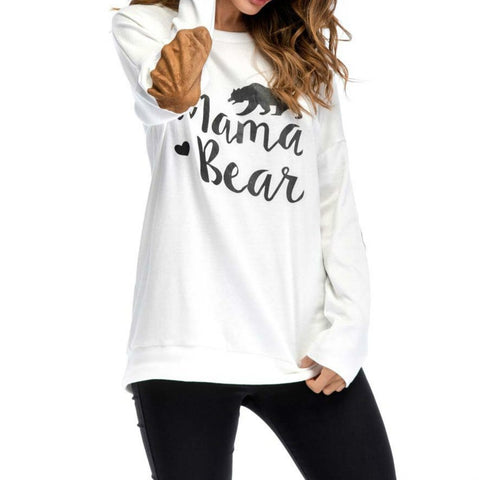MAMA BEAR Long-sleeve Sweatershirt for Women