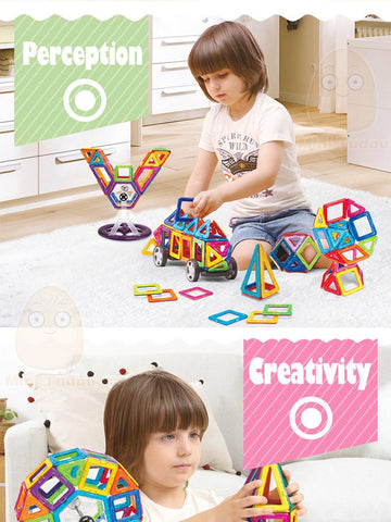 Build With Magnets for All ages - Set Of 100