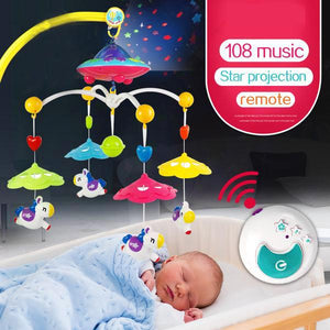 Astral Projection Musical Mobile Crib Carousel