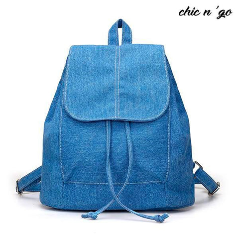 Chic-n-go Denim - The Coolest Girl's Backpack Ever