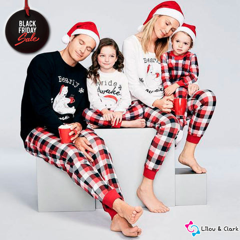Bearly Awake Christmas Matching PJ's