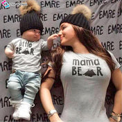 Mama Bear & Little Bear Matching Tees