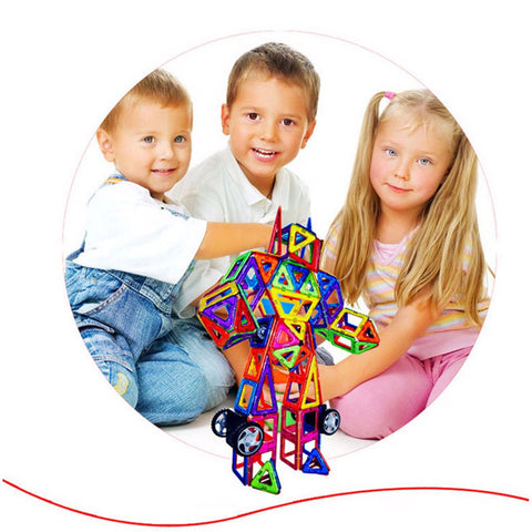 Image of Magnies Premium - Build With Magnets - 34Pcs 66Pcs - Educational Toy