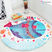 Bubbly Whale Newborn Baby Playmat