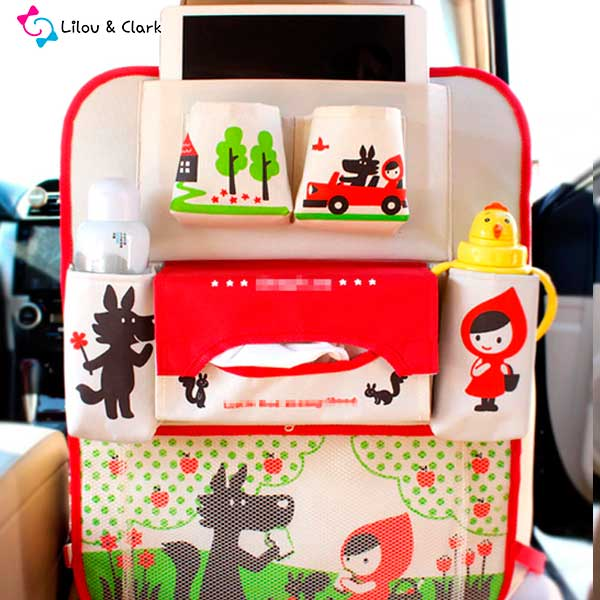 My Travel Space™ - The Ultimate Kids Car Organizer