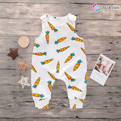 Cute Carrot Baby Romper