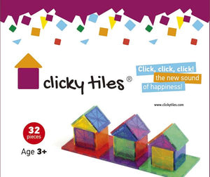 Clicky Tiles® - Standard Set - 32 Pcs