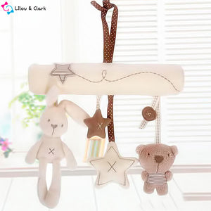 Beary Cute Fur - Grow Your Senses Sound & Touch Baby Toy