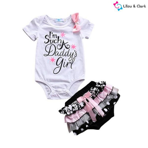 Image of I'm Such a Daddy's Girl Summer Set