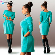 Casual Women's Autumn Dress