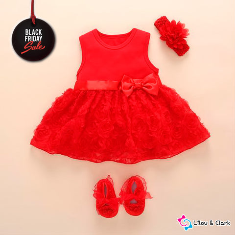 Beautiful Formal Baby Girl's Set