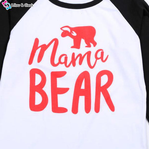 Family Bear Matching Nightwear