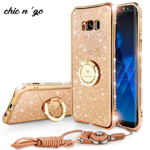 Image of Diamonds-R-4ever™ - The Ultimate Ring Case for iPhone XS / XS MAX