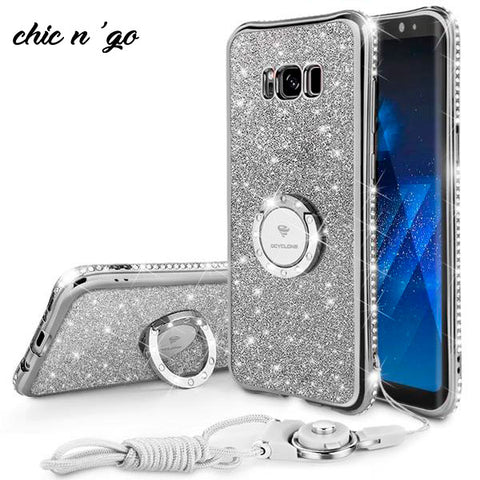 Diamonds-R-4ever™ - The Ultimate Ring Case for Samsung Galaxy S9 / S9 Plus