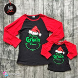 Resting Grinch Tees For Mommy and Me