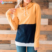 Casual Drawstring Cotton Hoodie