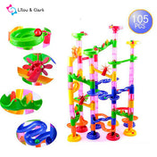 Marble Race Run Track - 105pcs