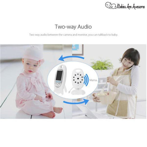 24Hour Baby Talk™ - The Best Baby Video Monitor