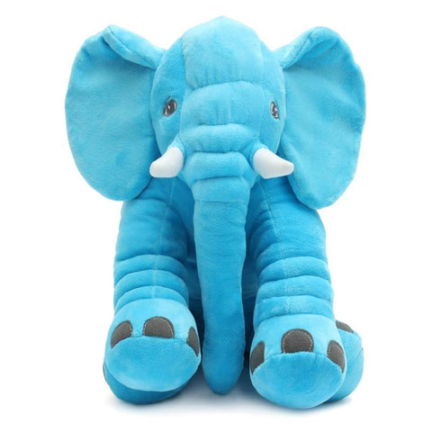 Image of Baby Lilou Plush Elephant Pillow