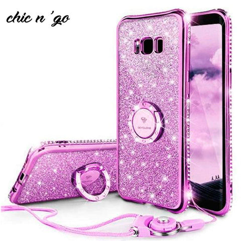 Image of Diamonds-R-4ever™ - The Ultimate Ring Case for Samsung Galaxy S9 / S9 Plus