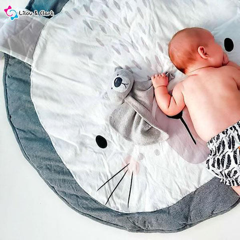 Image of Super Soft Cute Rabbit Baby Play Mat