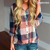 Casual Long Sleeve Shirt For Women