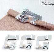 "3Pcs Rolled Hem Feet Set - The Most Useful Foot Tools 1/2"", 3/4"" and 1"""