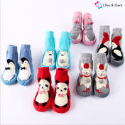 Anti-Slip Rubber Sole  Baby Animal Socks