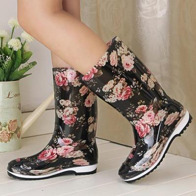 Flower Power Rainboots