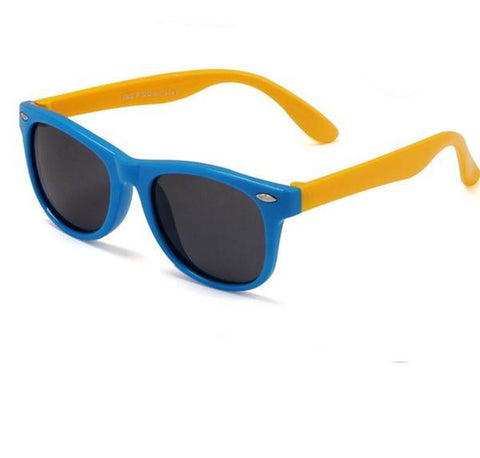 Image of Kids Silicone Sunglasses with Polarized Lenses
