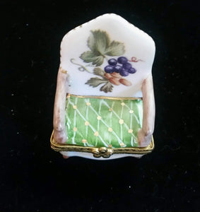 Miniature Chair Trinket Box