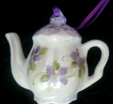 Load image into Gallery viewer, Miniature Tea Pot Ornament