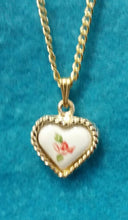Load image into Gallery viewer, Miniature Heart Pendant Necklace