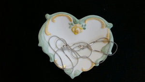 Heart Shaped Trinket Trays
