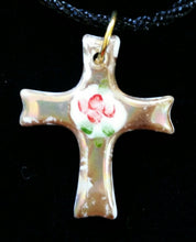 Load image into Gallery viewer, Beautiful Cross Pendants with Roses