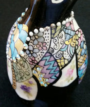 Load image into Gallery viewer, Hand Painted Porcelain Penguin with Swarovski Crys