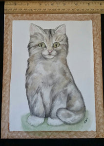 Adorable Cute Kitten Plaque