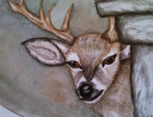 Load image into Gallery viewer, Hand Painter Deer Platter