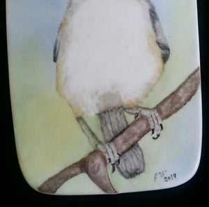 Tufted Titmouse Cheese Board