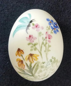 Hand Painted Porcelain Easter Eggs